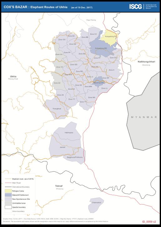 Elephant routes of Ukhia_ISCG