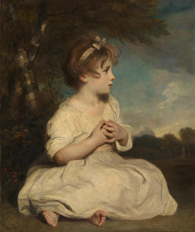 The Age of Innocence ?1788 by Sir Joshua Reynolds 1723-1792